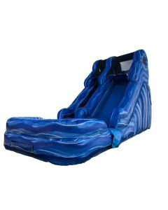 14' Marble ENHANCED Wet/Dry Inflatable Slide | S110