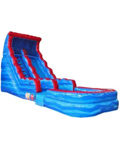 17' Marble Wet/Dry Inflatable Slide | 1082-1