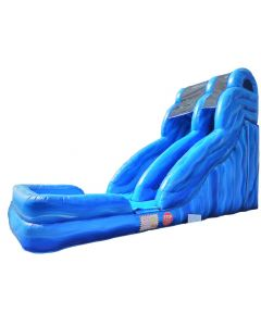 18' Marble Wave Wet/Dry Inflatable Slide | S109