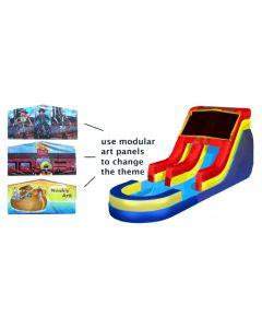 18' Modular Wet/Dry Slide