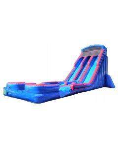 24' Double Lane Wet/Dry Slide | S137