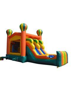 Balloon 2 Lane Bounce Slide Combo | Wet/Dry | C300