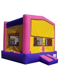 Modular Bounce House Pink/Purple | B117 | B117A