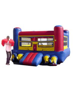 Boxing Ring w/ Gloves & Head Gear | I202b