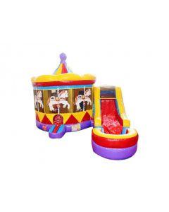 Carousel 7n1 Bounce Slide Combo | Wet/Dry