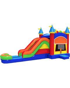Castle Bounce Slide Combo | Wet/Dry