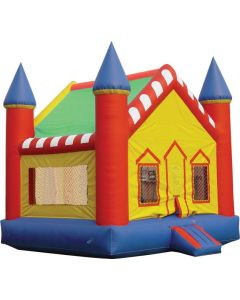 Castle V-Roof Bounce House |  B103