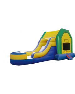 Fun House Bounce Slide Combo | Wet/Dry