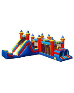 Jump Slide & Corner Obstacle (3 pc)