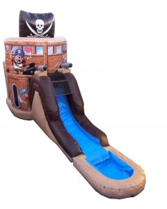 Pirate (Deluxe) Bounce Slide Combo | Wet/Dry | C129