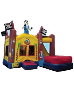 Pirate 7n1 Bounce Slide Combo | Wet/Dry