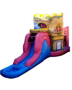 Princess (Deluxe) Bounce Slide Combo | Wet/Dry | C130