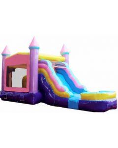 Princess Castle Modular Bounce Slide Combo | Wet/Dry