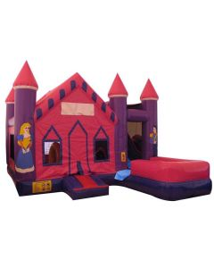 Princess Castle 7n1 Bounce Slide Combo | Wet/Dry
