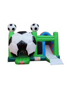 Soccer 7n1 Bounce Slide Combo | Wet/Dry