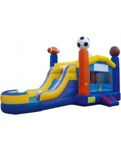 Sports Bounce Slide Combo | Wet/Dry