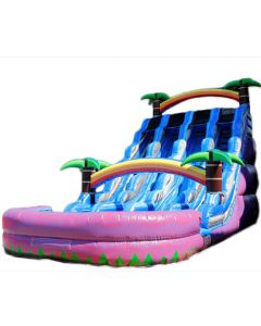 20' Triple Tropical Wet/Dry Slide