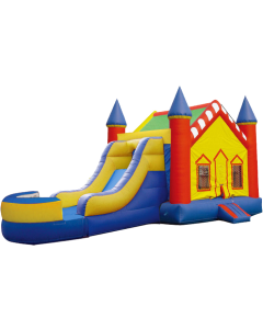 Castle V-Roof Bounce Slide Combo | Wet/Dry  | C102