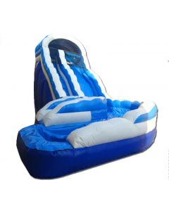19' Wave Curve Wet/Dry Inflatable Slide
